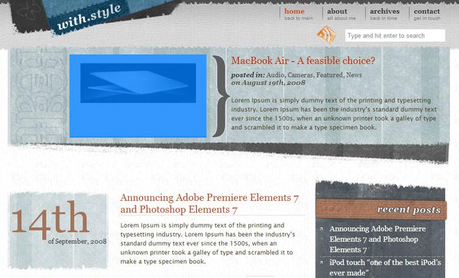 Grunge WordPress Themes