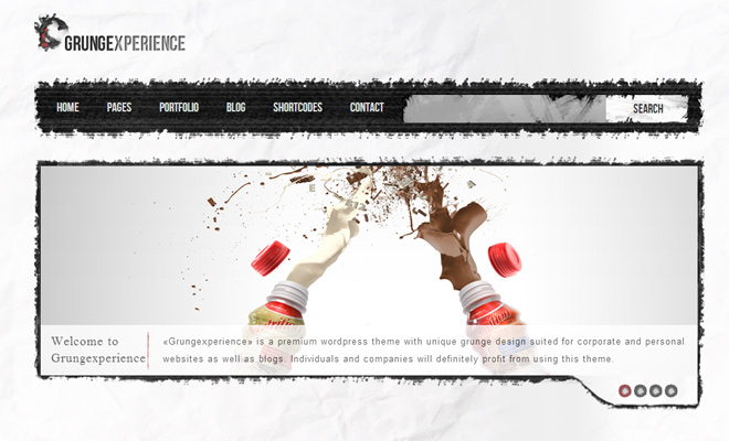 Grungexpress premium grungexperience WordPress Themes