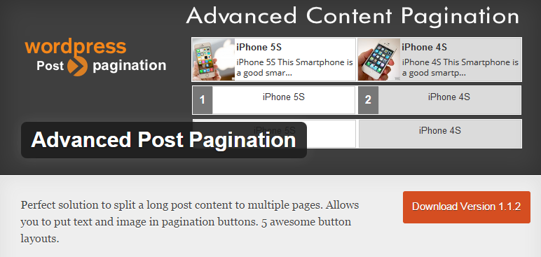 Advanced Post Pagination