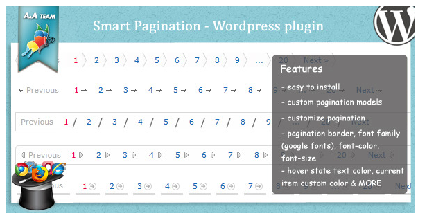 Superb Pagination plugins