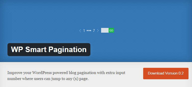 WP Smart Pagination