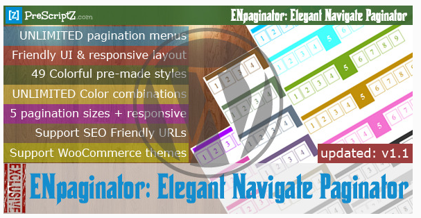 WordPress Elegant Navigate Paginator