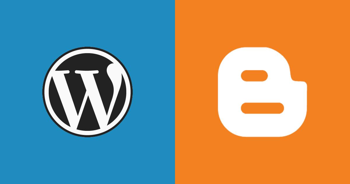 Blogger or WordPress: Which Is a Better Blogging Platform? | InkThemes