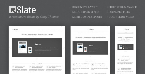 slate wordpress